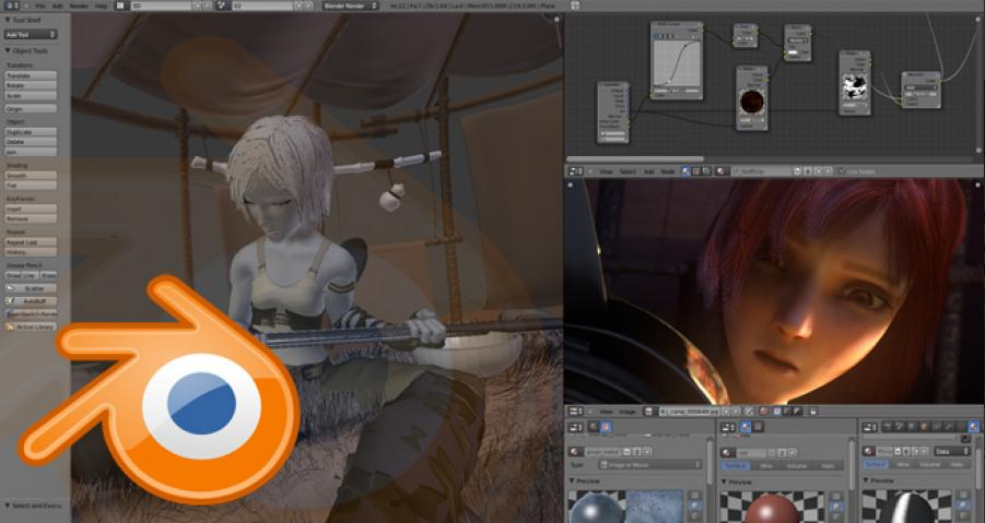 Blender Free Download For Mac 3d Model Application